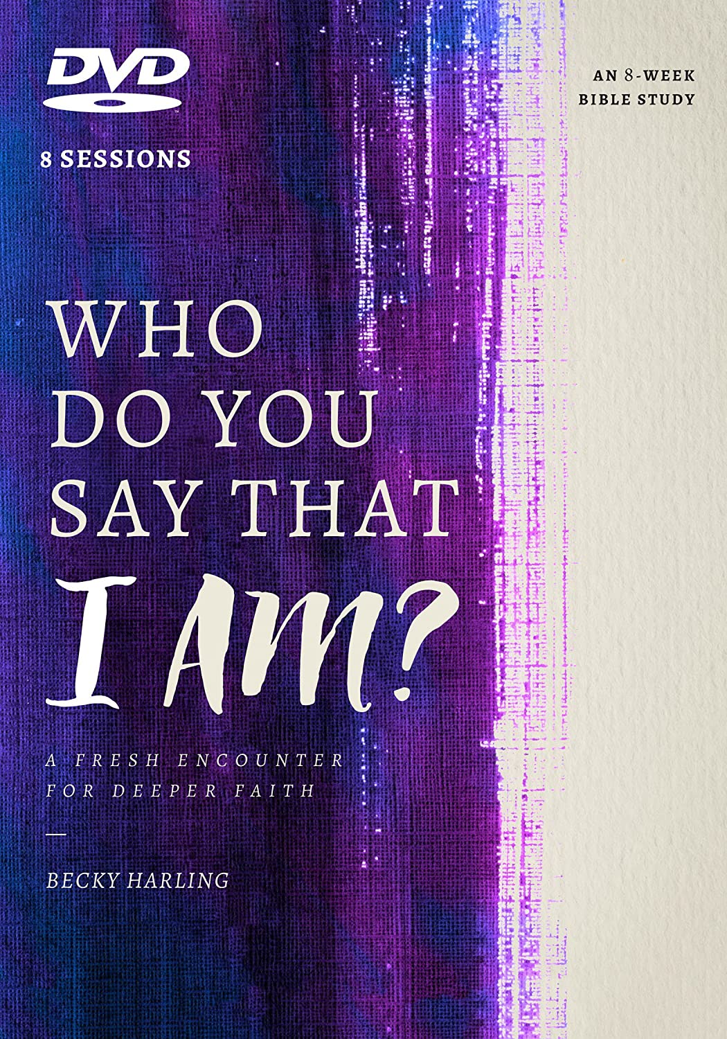 Cover of Becky Harling's DVD, Who Do You Say that I Am?