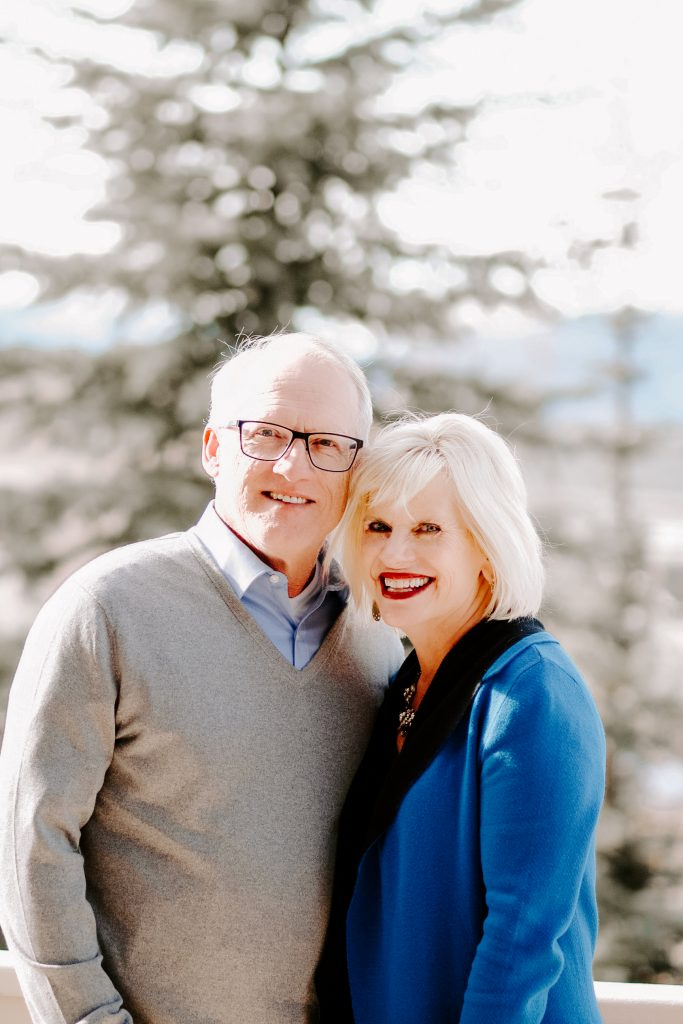 Portrait of Steve and Becky Harling